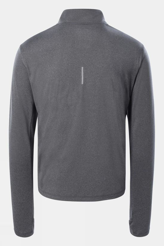 The North Face Mens Riseway 1/2 Zip Top Vanadis Grey Heather