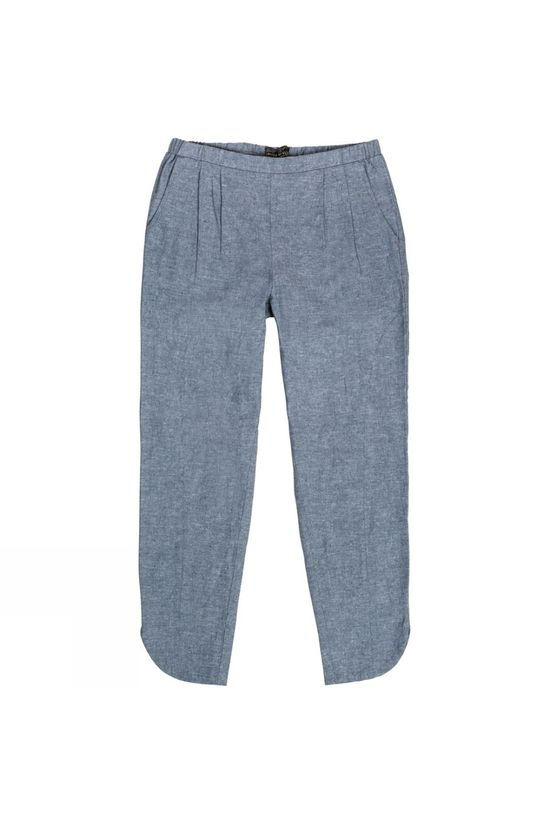 United By Blue Womens Grafton Chambray Pants Blue