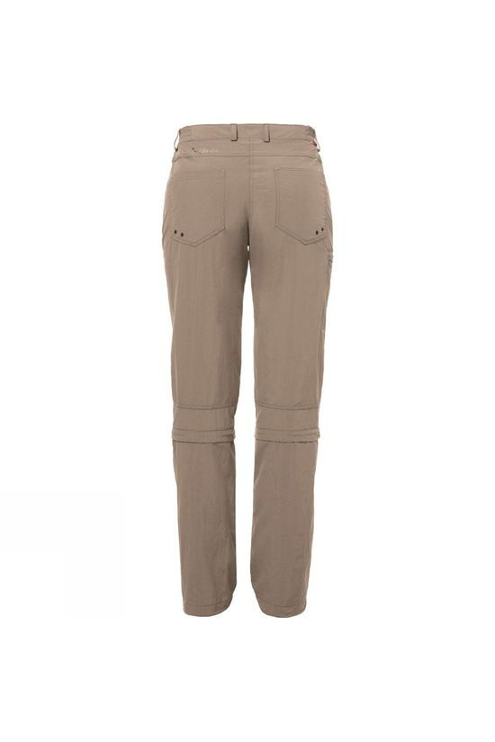 Vaude Womens Farley Zip Off Capris Muddy