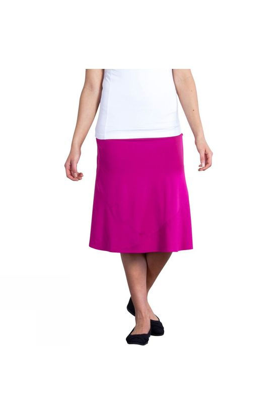 ExOfficio Womens Wanderlux Convertible Skirt Mulberry