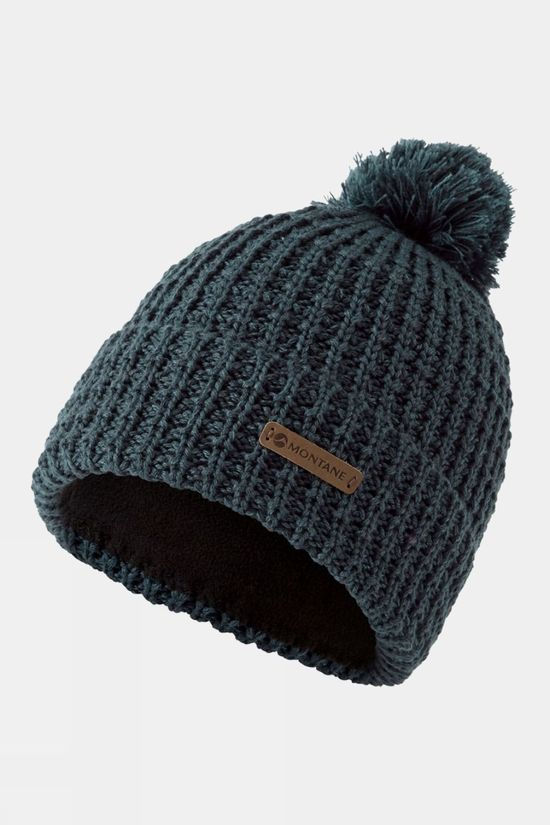 Montane Mens Top Out Bobble Beanie Orion Blue