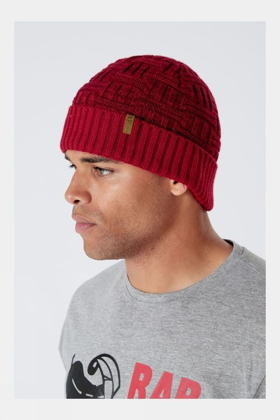 Rab Pinto Beanie Oxblood Red