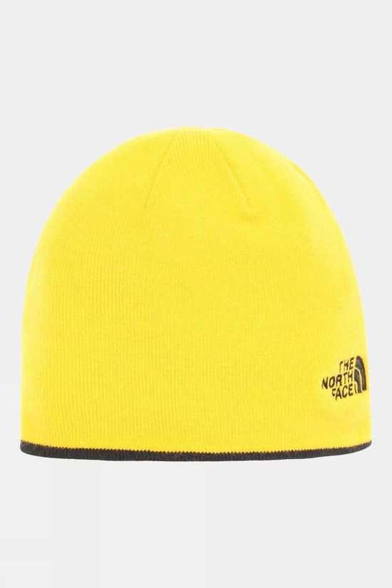 The North Face Reversible TNF Banner Beanie TNF Black/Summit Gold