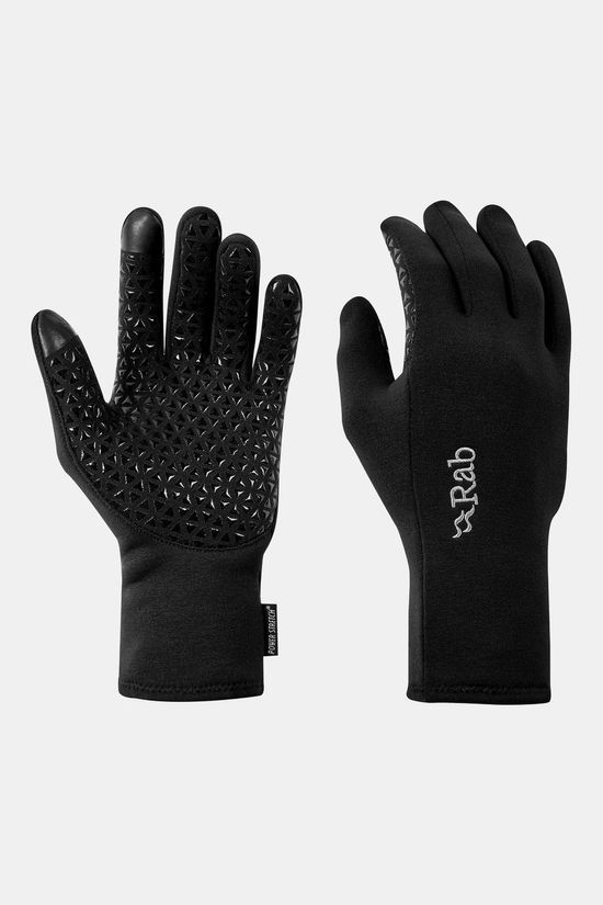 Rab Power Stretch Contact Grip Glove Black