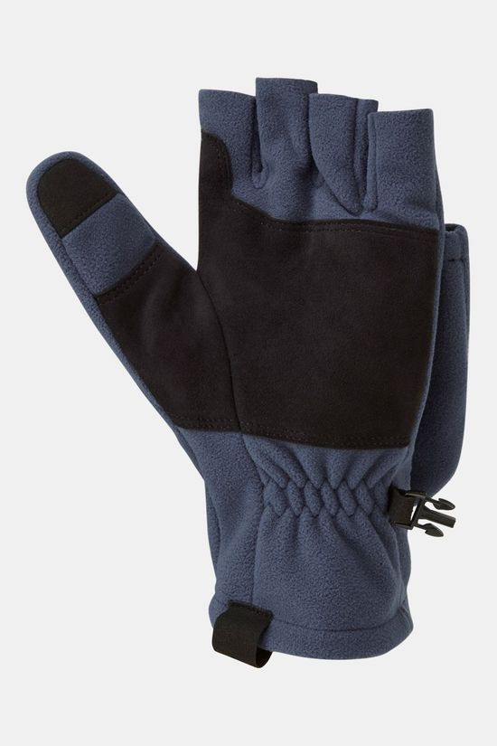 Rab Mens Infinium Windproof Convertible Mitt Deep Ink