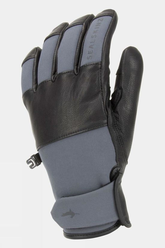 SealSkinz Men's Waterproof Cold Weather Fusion Control Glove Grey/Black