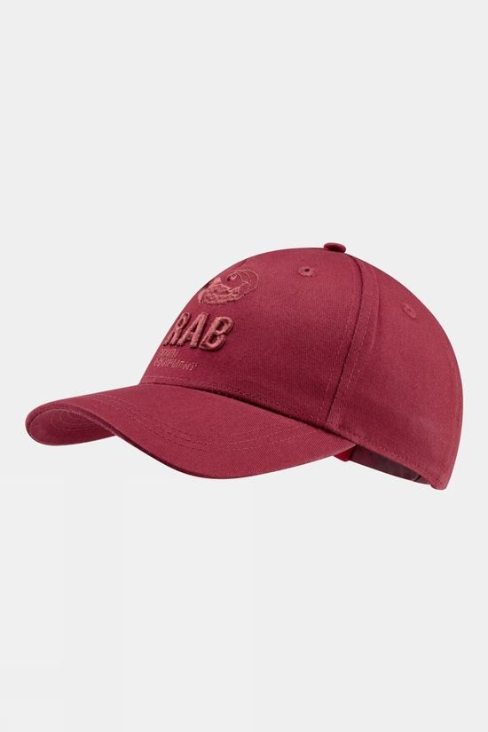 Rab Mens Feather Cap Oxblood Red