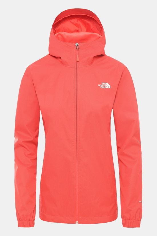 The North Face Womens Quest Jacket Cayenne Red Black Heather