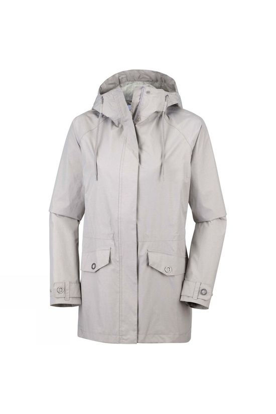 Columbia Womens Laurelhurst Park Jacket Flint Grey Heat