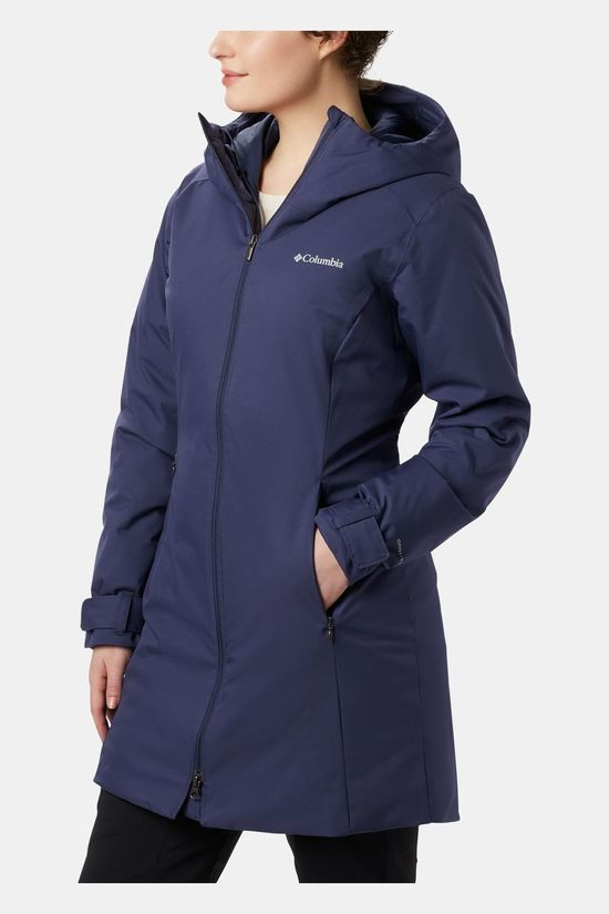 Columbia Womens Autumn Rise Mid Jacket Nocturnal