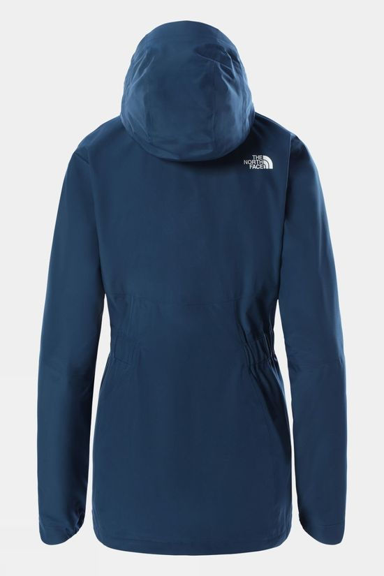 The North Face Womens Hikesteller Parka Shell Jacket Monterey Blue