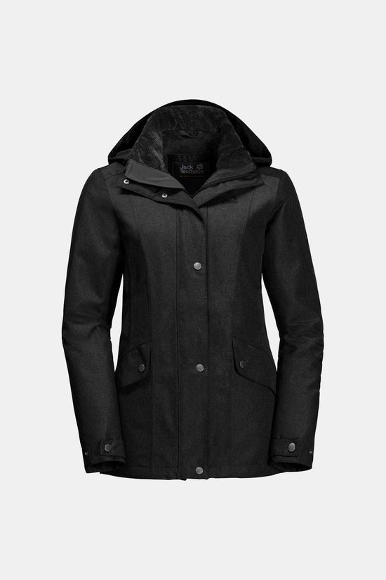 Jack Wolfskin Park Avenue Jacket Black