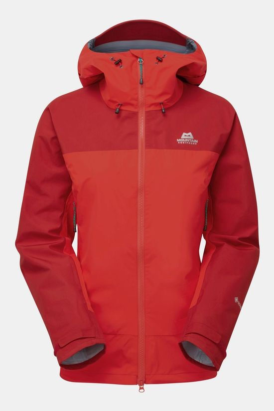 Mountain Equipment Womens Saltoro Jacket Imperial Red/Crimson