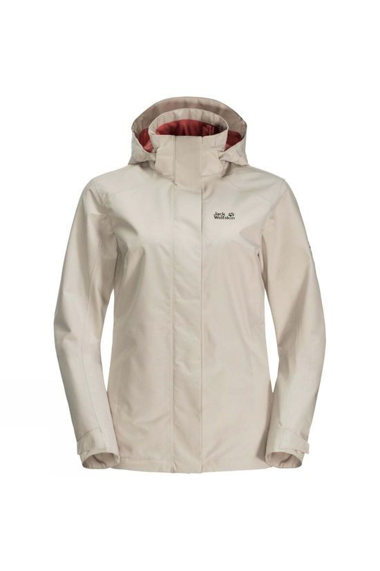Jack Wolfskin Womens Eskdale Jacket Dusty Grey