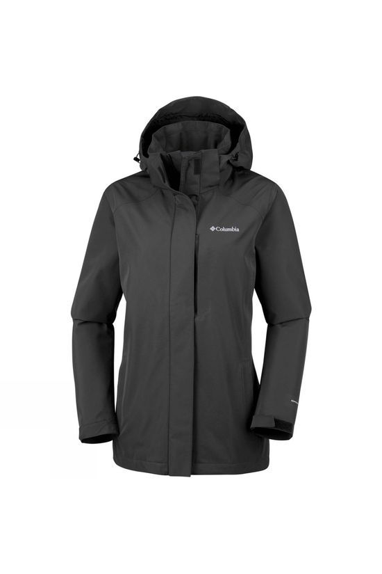 Columbia Womens Forest Park Jacket Black