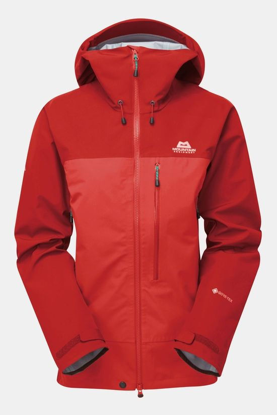 Mountain Equipment Womans Nanda Devi Jacket Imperial Red/Crimson