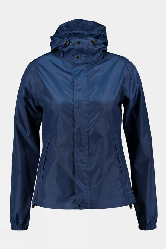 Our Planet Womens Baatara Waterproof Jacket  Navy