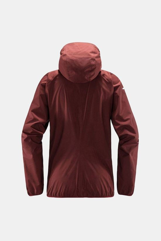 Haglofs Womens L.I.M PROOF Multi Jacket Maroon red