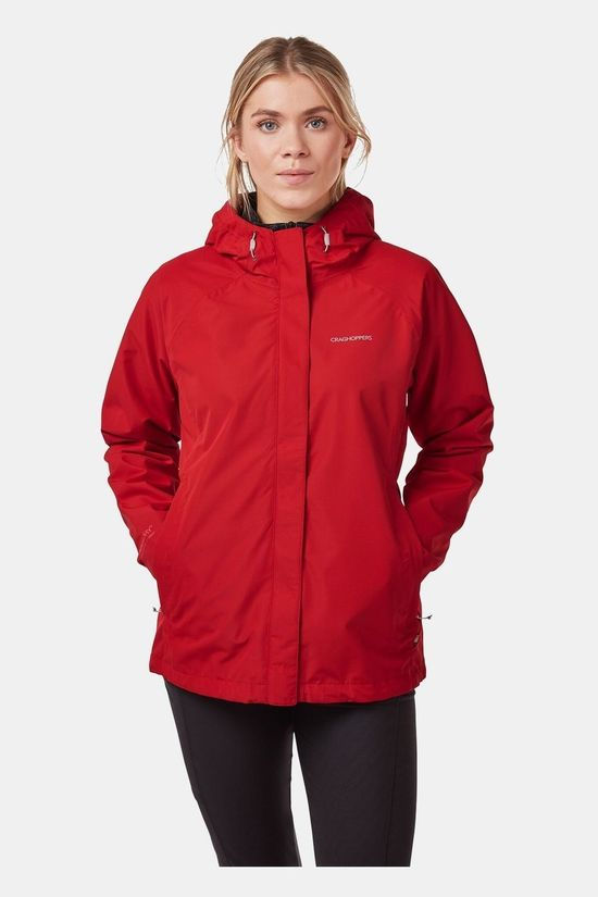 Craghoppers Womens Orion Jacket Dark Rio Red