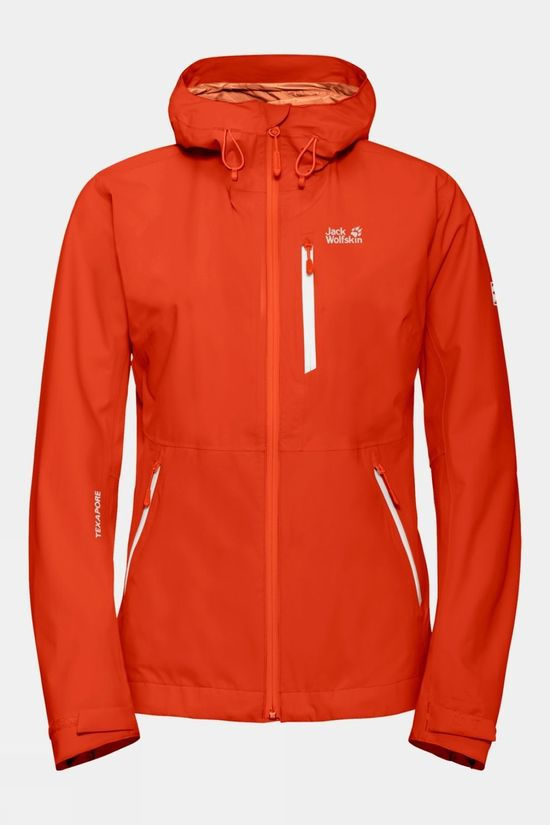 Jack Wolfskin Womens Eagle Peak Jacket Wild Brier