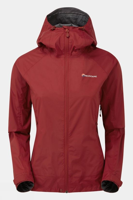 Montane Womens Meteor Jacket Tibetan Red