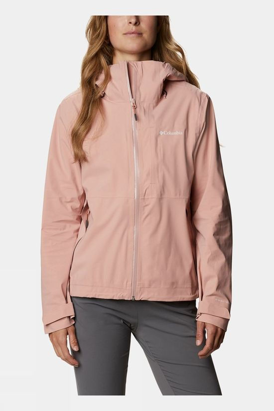 Columbia Womens Ampli-Dry Jacket Faux Pink