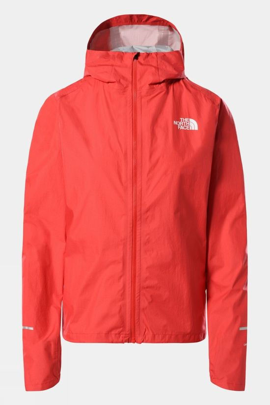The North Face Womens First Dawn Packable Jacket HORIZON RED