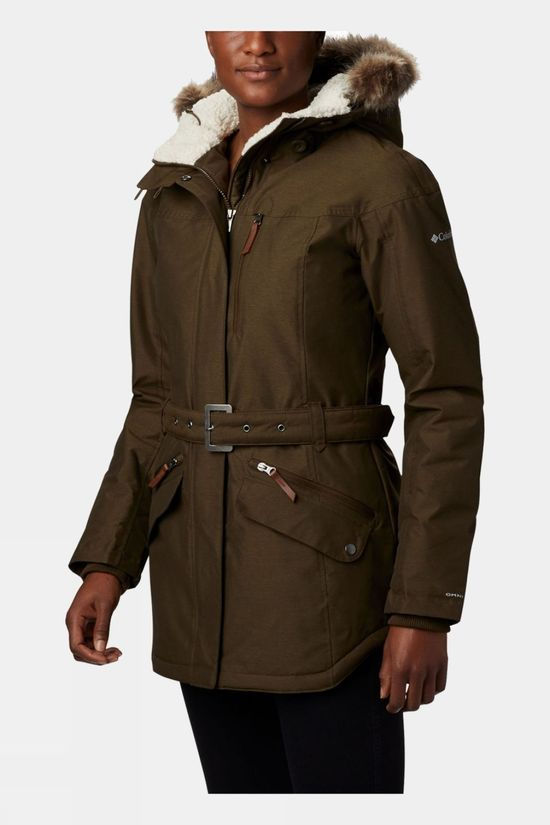 Columbia Womens Carson Pass II Jacket Olive Green
