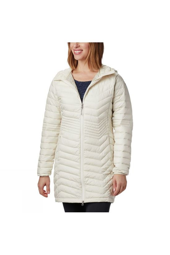 Columbia Womens Powder Lite Mid Jacket Chalk