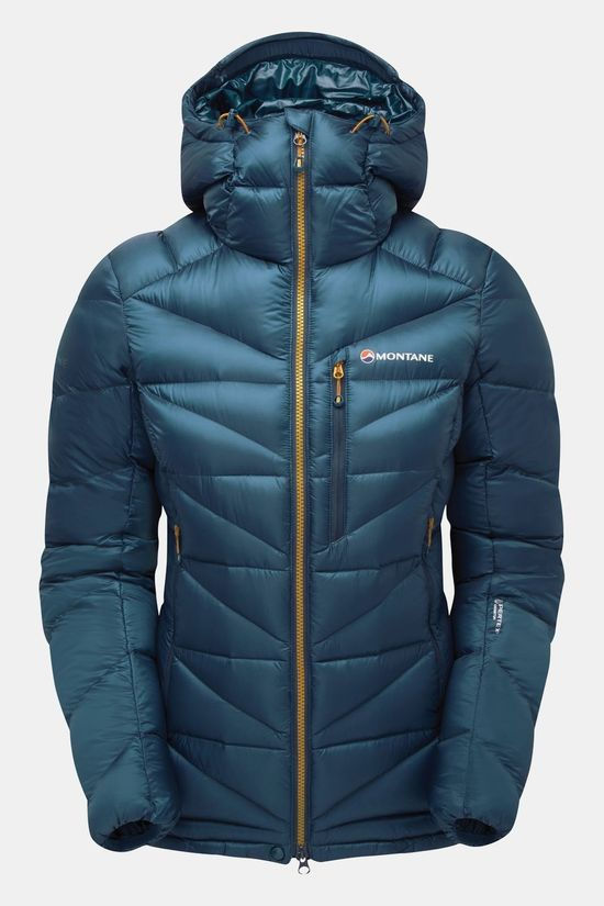 Montane Womens Anti-Freeze Jacket Narwhal Blue/Inca Gold