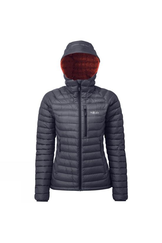 Rab Womens Microlight Alpine Jacket Steel / Passata