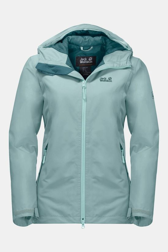 Jack Wolfskin Womens Chilly Morning Jacket Green Haze