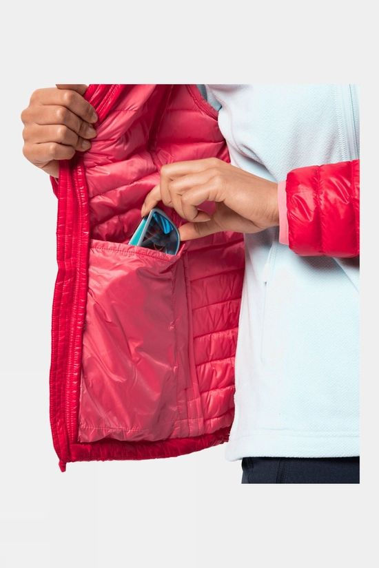 Jack Wolfskin Womens Atmosphere Jacket Clear Red