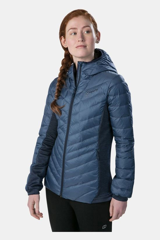 Berghaus Womens Tephra Stretch Reflect Jacket Vintage Indigo