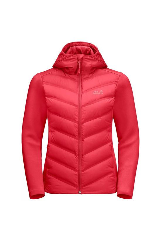 Jack Wolfskin Womens Tasman Jacket Tulip Red