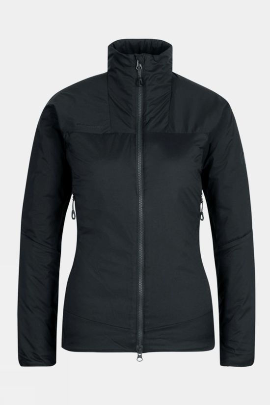 Mammut Womens Rime Hybrid Flex Insulated Jacket Black/Phantom