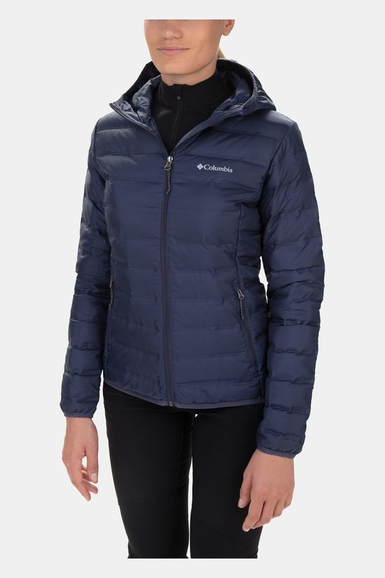 Columbia Womens  Lake 22 Down Hooded Jacket Nocturnal
