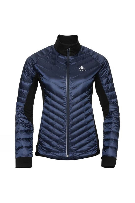 Odlo Womens Cocoon N-Thermic Light Insulated Jacket Diving Navy - Black
