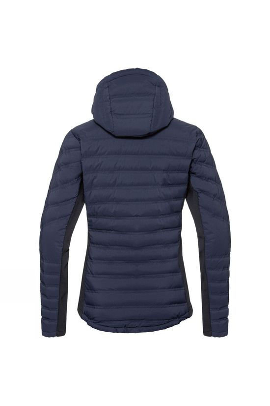 Odlo Womens Sara Cocoon Insulated Jacket Diving Navy