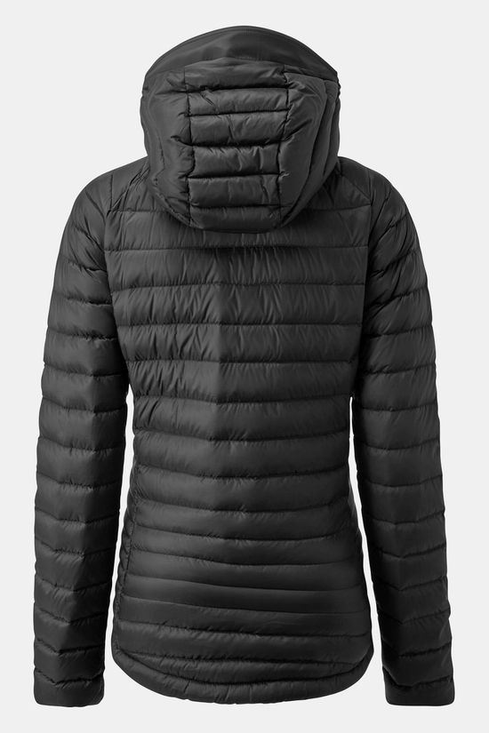 Rab Womens Microlight Alpine Long Jacket Black