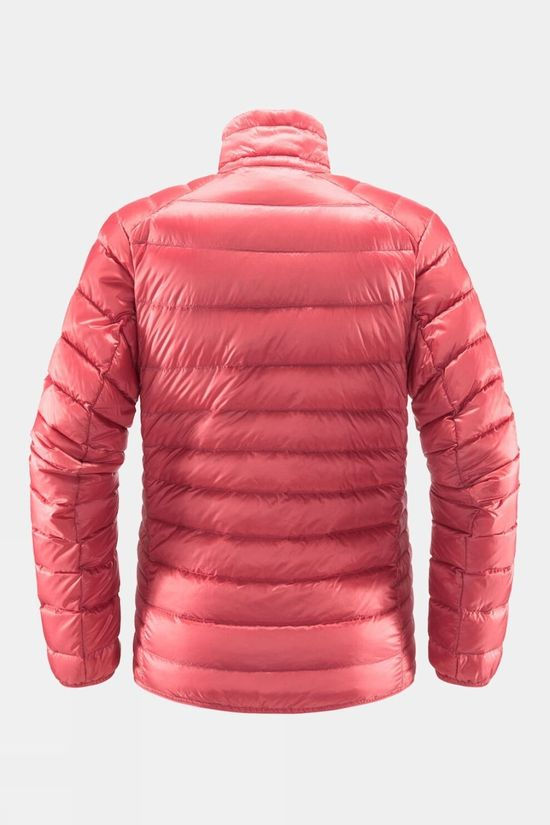 Haglofs Womens Roc Down Jacket Tulip Pink