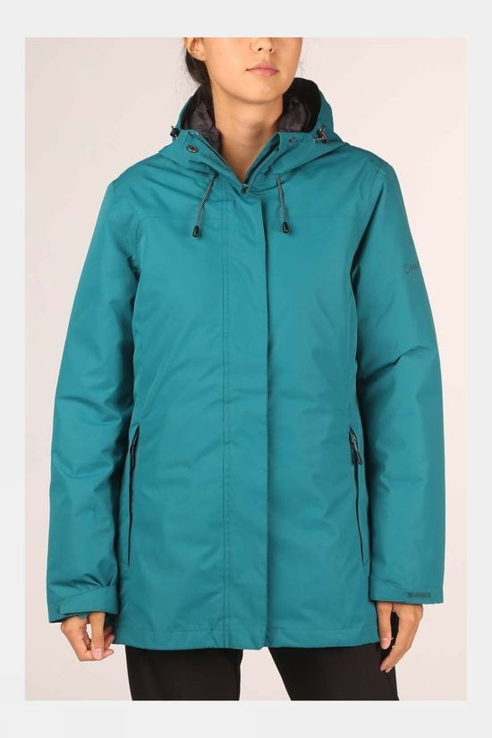 Our Planet Womens Cambrium 3in1 Jacket Shaded Spruce
