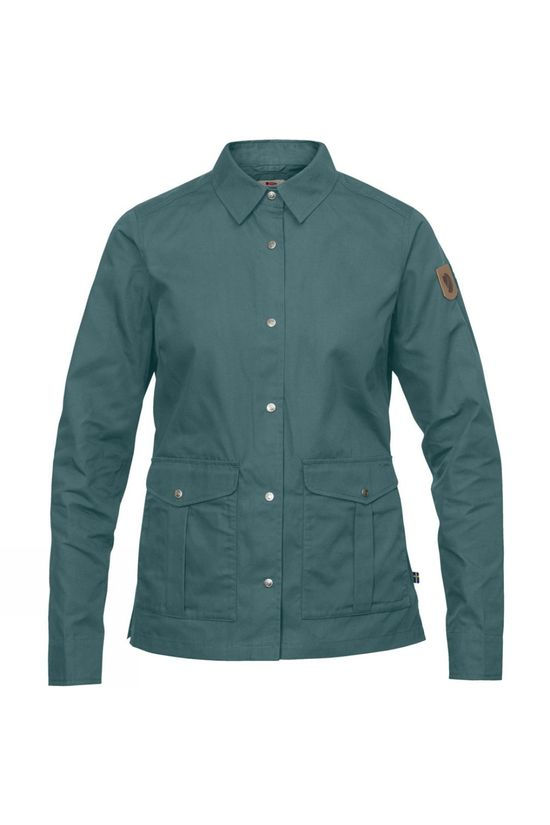 Fjallraven Greenland Shirt Jacket Frost Green