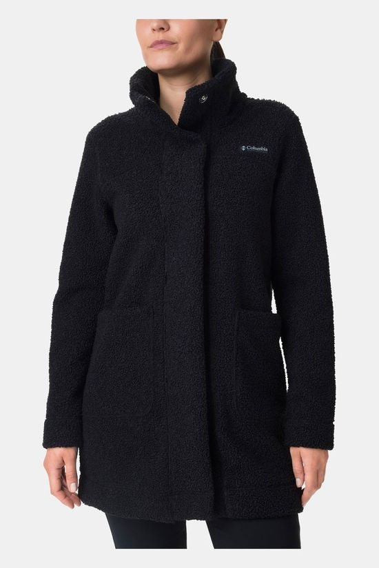 Columbia Womens Panorama Long Jacket Black