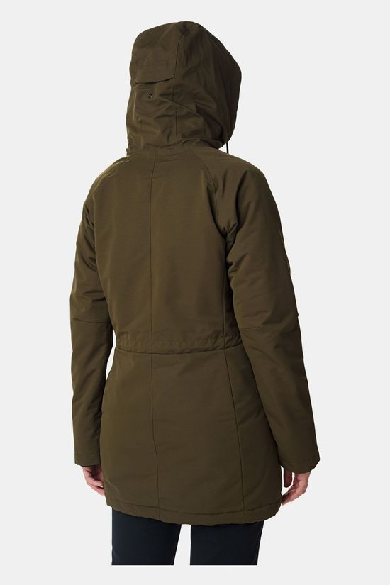 Columbia Womens South Canyon Sherpa Lined Jacket Olive Green