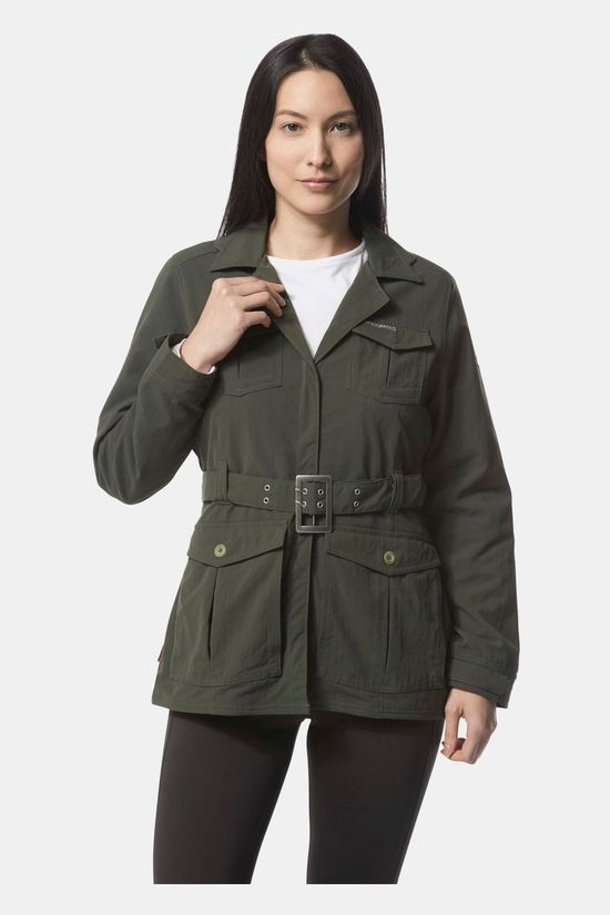 Craghoppers Womens NosiLife Lucca Jacket Mid Khaki
