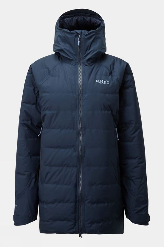 Rab Womens Valiance Parka Deep Ink