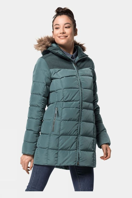 Jack Wolfskin Womens Baffin Island Coat North Atlantic