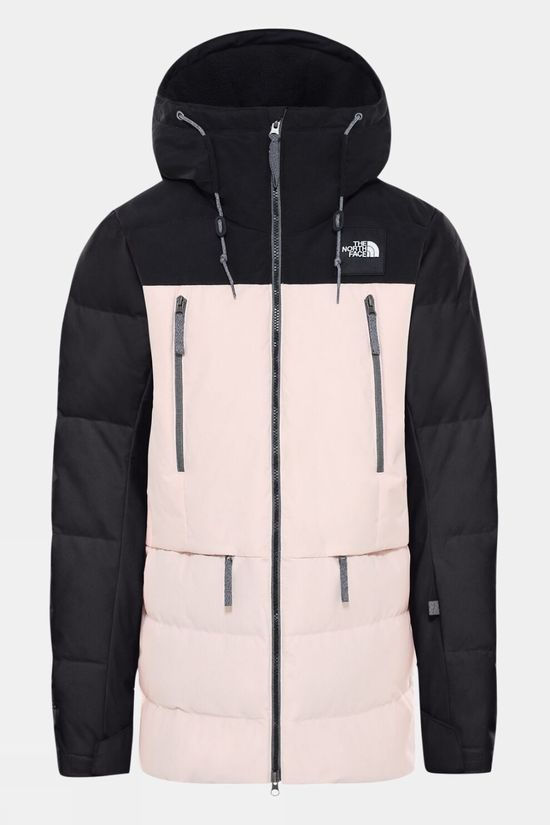 The North Face Womens Pallie Down jacket TNF Black/Morning Pink