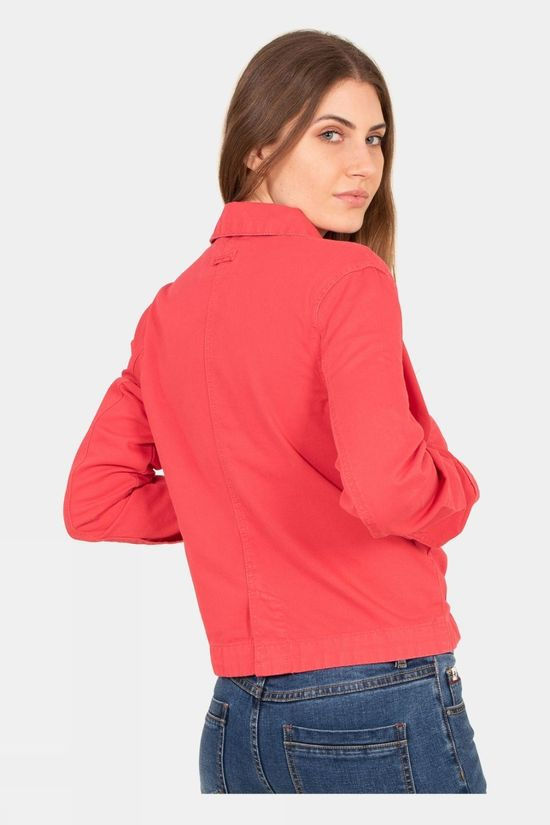 Brakeburn Womens Canvas Jacket Pink